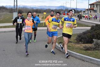 Los Numeros de la meda Maraton de León