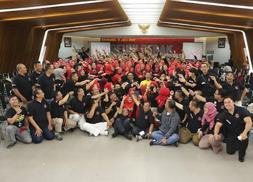 Paskibra Kota Bandung Angkatan '92 Gelar Reuni Perak