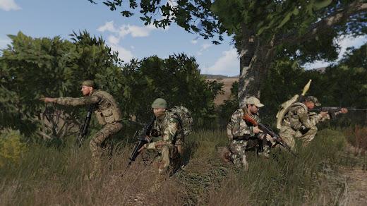 Arma3用2017年のAltis軍アドオン