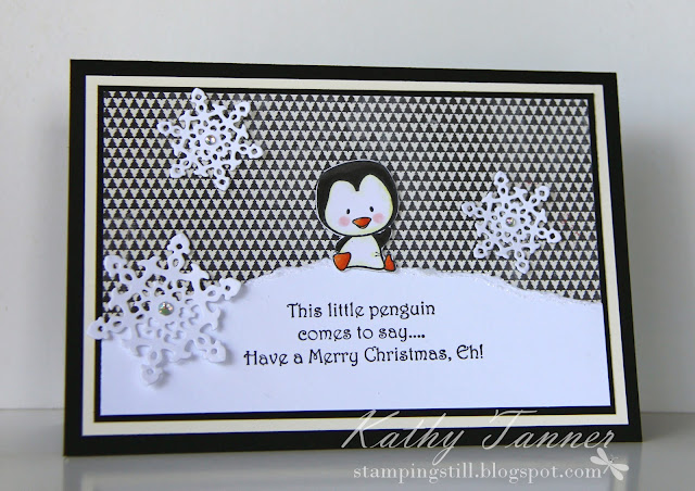 cc designs, sweet penguins, ornate snowflake die, la la land,