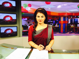farhana nisho reading news