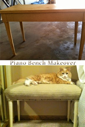DIY Why Spend More: What to do with that old piano bench