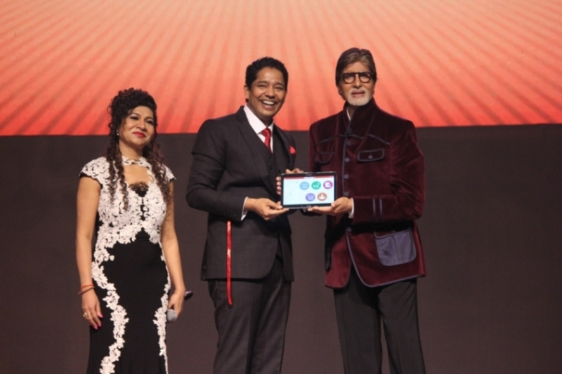 Superstar Amitabh Bachchan unveils new learning management system