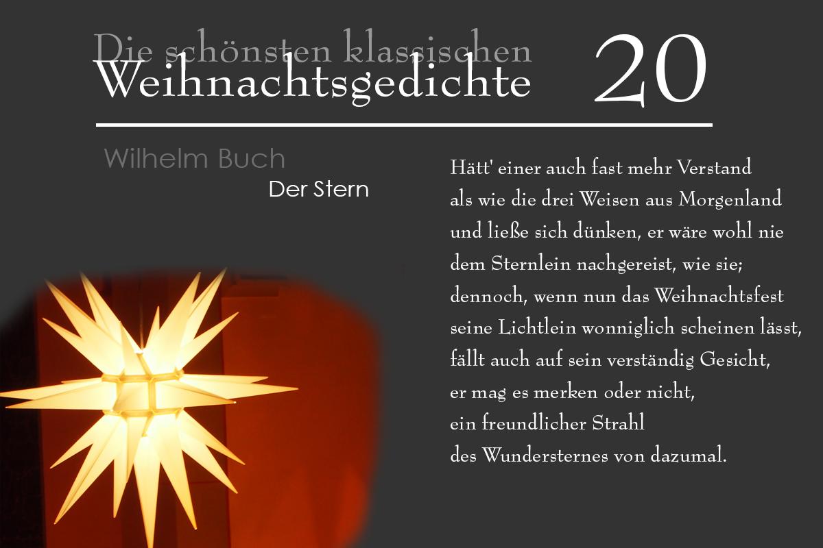 Weihnachtsgedichte Von Wilhelm Busch.Mein Usedom Das 20 Türchen Wilhelm Busch Der Stern