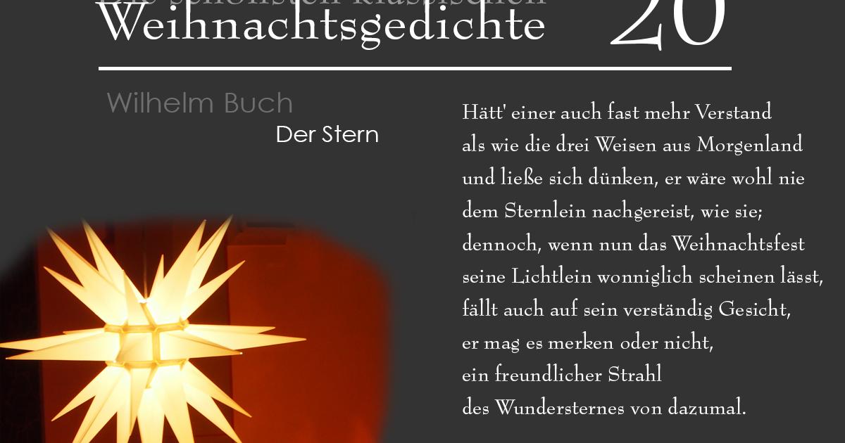 Wilhelm Busch Weihnachtsgedichte.Mein Usedom Das 20 Türchen Wilhelm Busch Der Stern