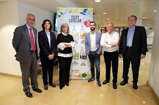 #CarlesGaig, #DavidHeras, #VichyCatalan, #aigua, #gastronomia