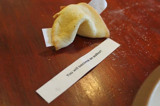 Grace Lin - FORTUNE COOKIES recipe and activity via www.happybirthdayauthor.com