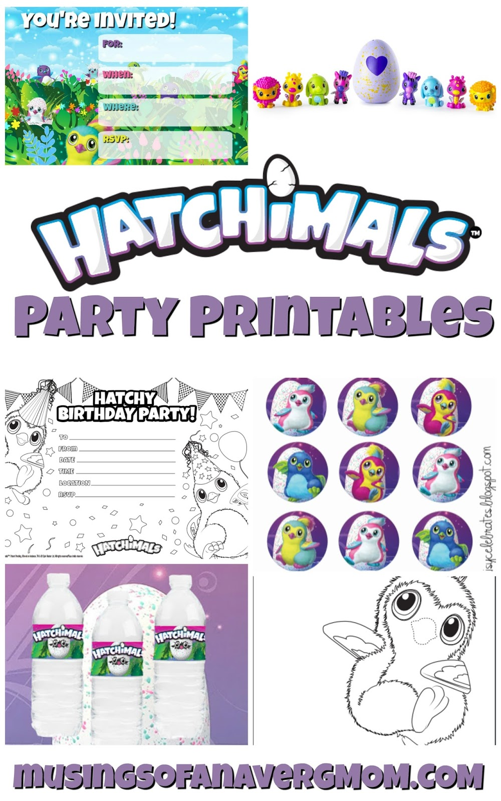 Musings Of An Average Mom Hatchimals Birthday Party