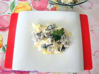 Pappardelle ricce alla ricotta - Ricetta con le melanzane