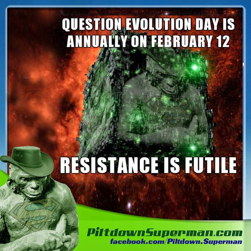 Question Evolution Day, Why?Outreach, Star Trek, Borg