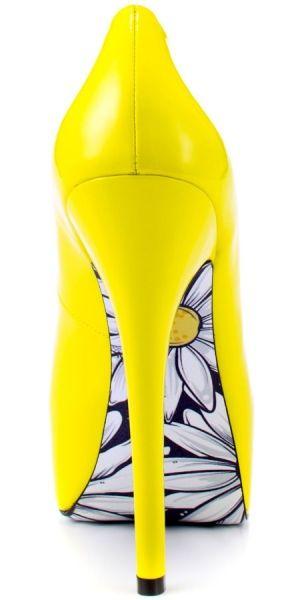 yellow heels fasion