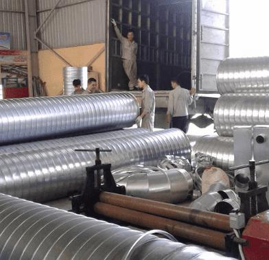 Quy trình sản xuất ống gió TPP Hình 13