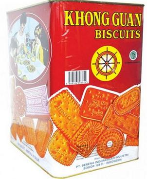 Daftar harga biskuit dan wafer kaleng terbaru merk khong guan monde ubm murah