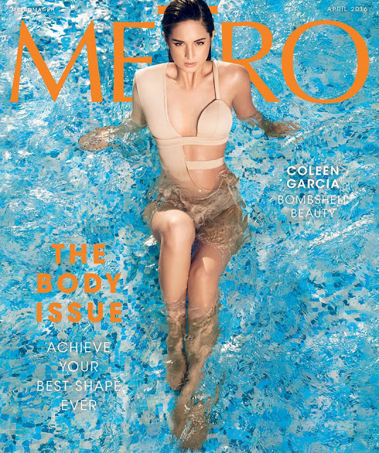 Coleen Garcia Metro Magazine April 2016 Cover