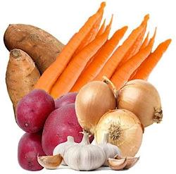 Image: Farmers Market Organic Seasonal Vegetable Bundle (Hearty Organic Vegetable Box)