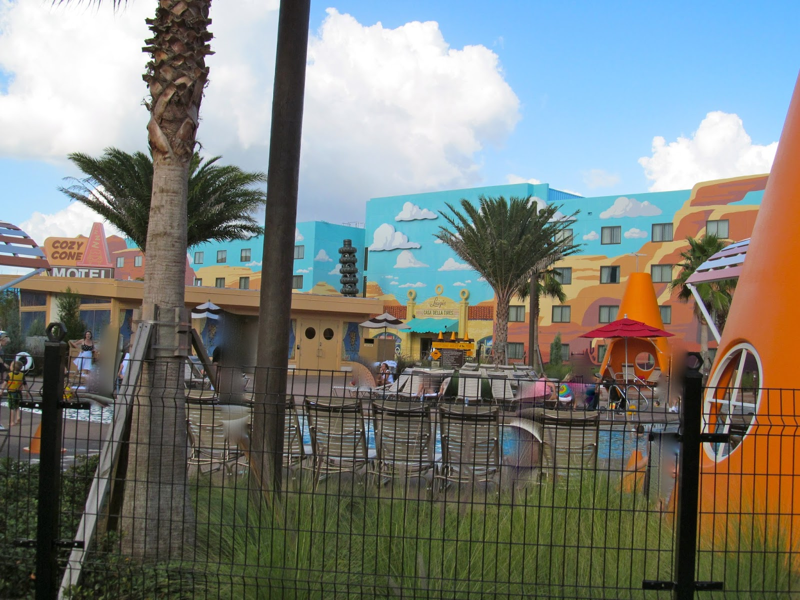 Cars Area at The Art of Animation Resort