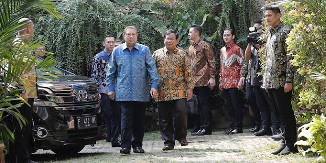 SBY: Pak Prabowo adalah Calon Presiden Kita