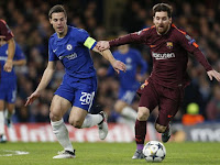 Lionel Messi's goal gives Barcelona draw at Chelsea