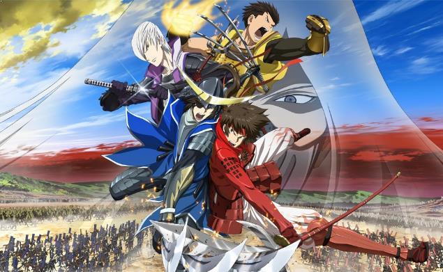 Sengoku Basara Series - Anime Tentang Perang Terbaik dan Terkeren (Dari Jaman Kerajaan sampai Masa Depan)