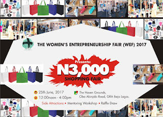 Event: Come Shop For Less Than N3000 at The Women's Entrepreneurship Fair (WEF) 2017