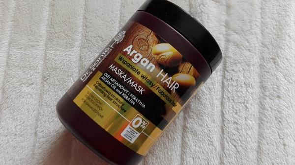 Dr. Sante, Argan Hair, maska do włosów z olejem arganowym i keratyną