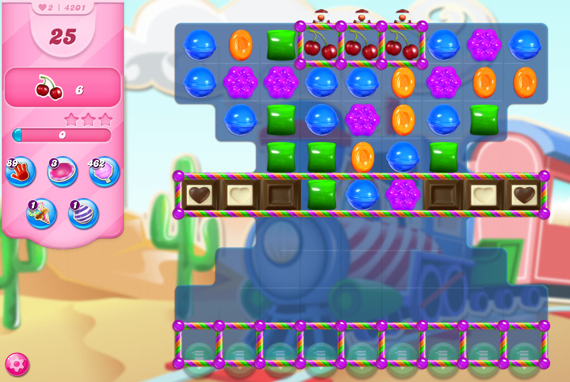 Candy Crush Saga level 4201