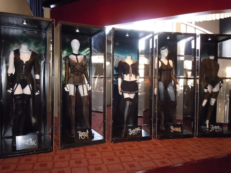 Sucker Punch movie costume display