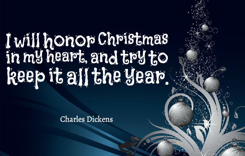 As i see it now merry christmas to my readers