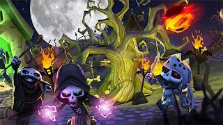 Game Skull Towers Castle Defense V0.1.7 MOD Apk ( Unlimited Money )