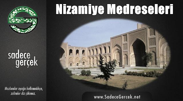 Anadolu Selçuklu Devleti eğitim kurumu Nizamiye medreseleri