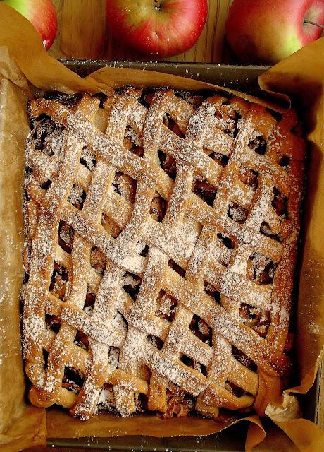 Szarlotka z kratką / Apple Shortcake