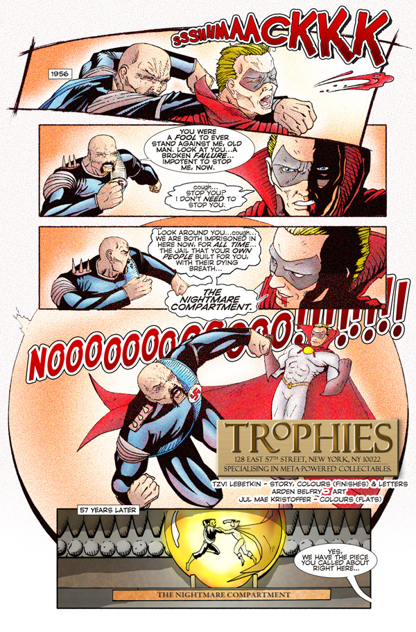 Trophies Webcomic