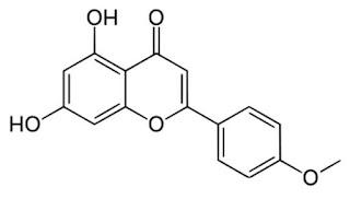estrutura-quimica-acacetina-formula