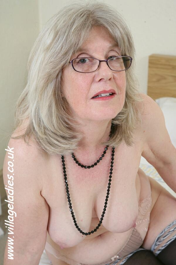 Mom sexy mature blonde wants you to feel her long stocking l 6