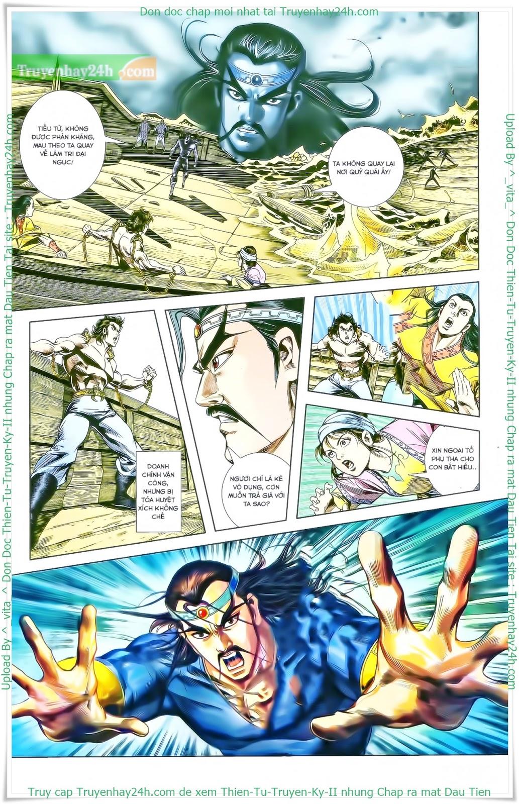 Tần Vương Doanh Chính chapter 27 trang 22
