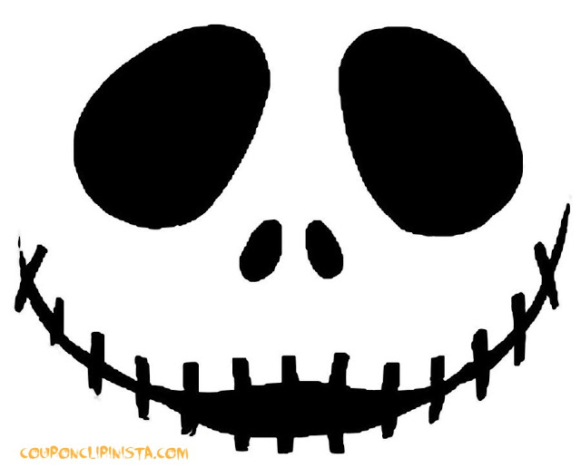 Download Easy Free Halloween Pumpkin Carving Patterns Template