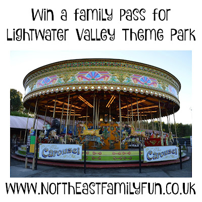 Win a family pass for Lightwater Valley Theme Park