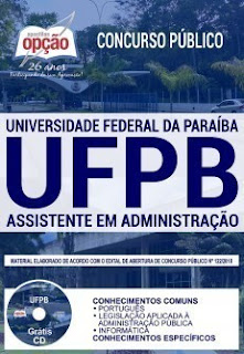 Download Apostila Concurso UFPB 2019 PDF