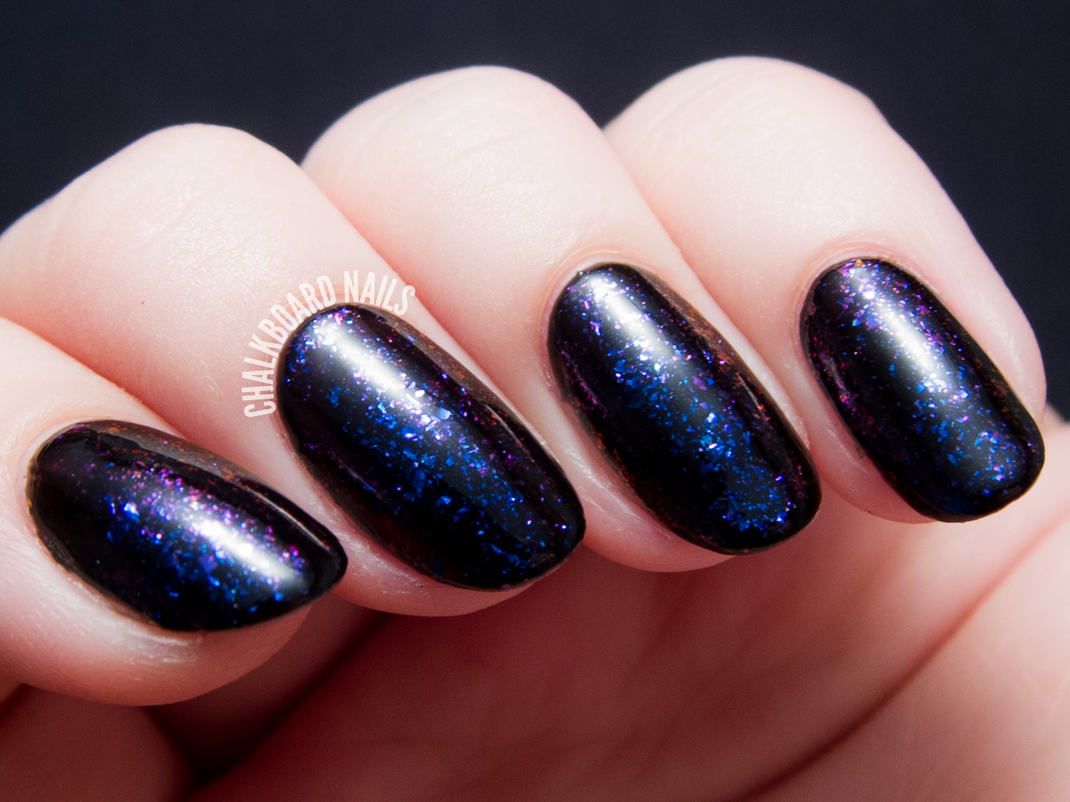 I Love Nail Polish - Atlantis via @chalkboardnails