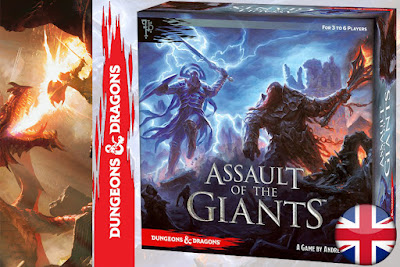 IN ARRIVO - DUNGEONS & DRAGONS - BOARD GAMES - D&D ASSAULT OF THE GIANTS