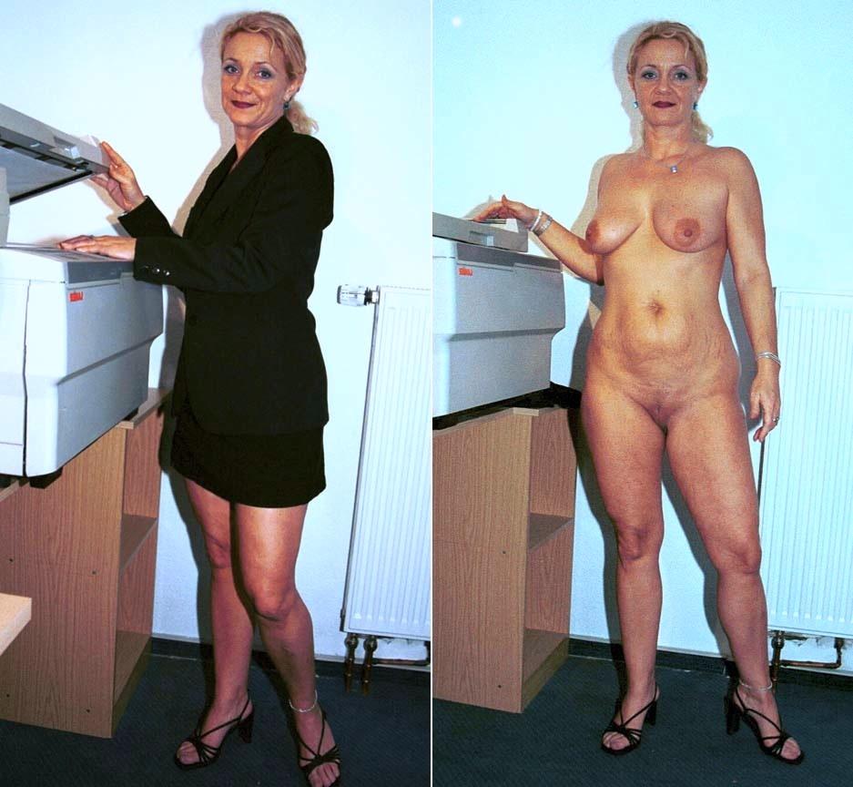 жена на работе голая сына очень