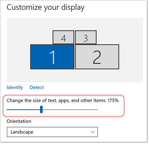 Fix Dynamics GP scaling and font size issues on high DPI