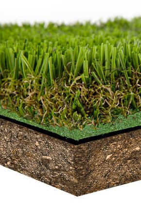 instalación césped artificial sobre tierra o terrazas