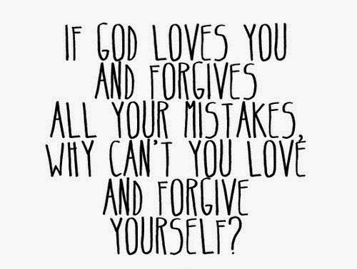 Forgiving Yourself; Let It Go