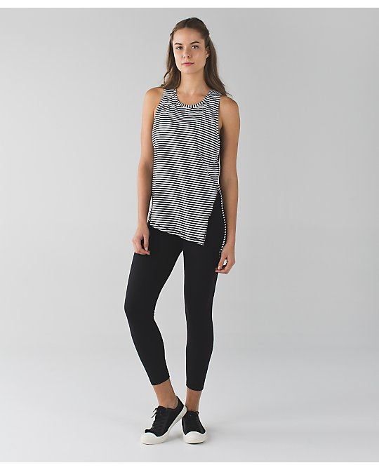lululemon classic-stripe tie-and-go-tank