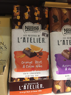 L'atelier Orange Zest & Cacao Nibs Dark Chocolate