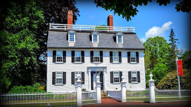 Ropes Mansion, Peabody Essex Museum, Salem, Massachusetts