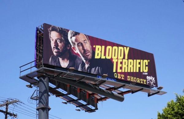 Get Shorty Bloody terrific season 1 Emmy FYC billboard