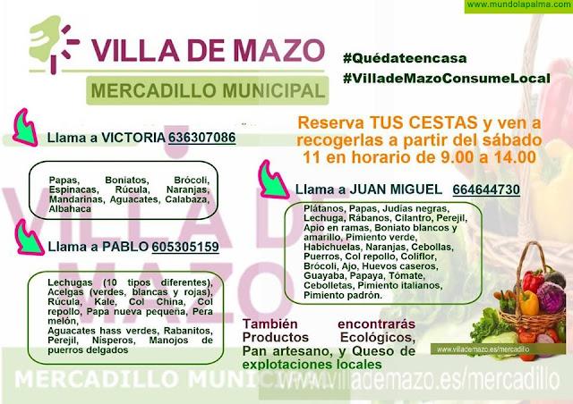 El Ayuntamiento de Villa de Mazo continua trabajando para acercar los productos locales a los consumidores