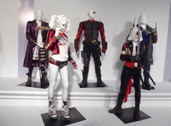 Suicide Squad movie costume exhibit